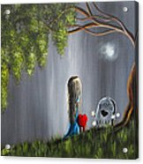 Don't Worry I Won't Let That Happen To You By Shawna Erback Acrylic Print by Shawna Erback