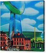 Doomsday Domination Acrylic Print by Benjamin Yeager