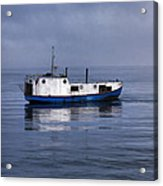 Door County Gills Rock Trawler Acrylic Print by Christopher Arndt