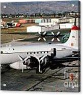 Douglas C-54e Firefighting Airtanker N460wa Acrylic Print by Wernher Krutein