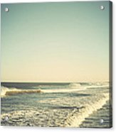 Down The Shore - Seaside Heights Jersey Shore Vintage Acrylic Print by Terry DeLuco