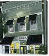 Downtown Books 11 Acrylic Print by Susan Richardson