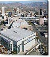 Downtown Salt Lake City Acrylic Print by Bill Cobb