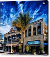 Downtown Ventura Acrylic Print by Mountain Dreams