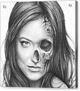 Dr. Hadley Thirteen - House Md Acrylic Print by Olga Shvartsur