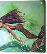 Dream Acrylic Print by Mamu Art