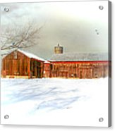 Dreams Of A White Christmas Acrylic Print by Mary Timman