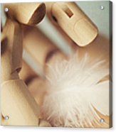 Dreams Of Flying Acrylic Print by Amy Weiss