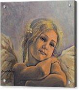 Dreamy Angel Acrylic Print by Dorina  Costras