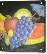 Dreamy Fruit Acrylic Print by Tracy Lawrence
