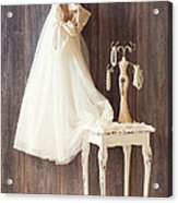 Dress Acrylic Print by Amanda And Christopher Elwell