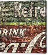 Drink Coca-cola 1 Acrylic Print by Scott Norris