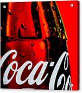 Drink Coca Cola Acrylic Print by Bob Orsillo