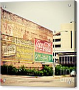 Drink Coca Cola Acrylic Print by Scott Pellegrin