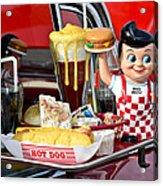 Drive-in Food Classic Acrylic Print by Carolyn Marshall