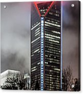 Duke Energy Center Acrylic Print by Brian Young