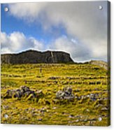 Dun Aengus - Ancient Irish History Acrylic Print by Mark E Tisdale
