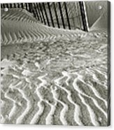 Dune Patterns II Acrylic Print by Steven Ainsworth