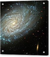 Dusty Galaxy Acrylic Print by The  Vault - Jennifer Rondinelli Reilly