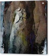 Dwelling In Her Dark Space Acrylic Print by Gun Legler