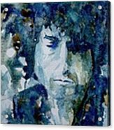 Dylan Acrylic Print by Paul Lovering