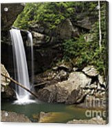 Eagle Falls - D002751 Acrylic Print by Daniel Dempster