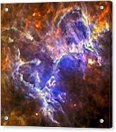 Eagle Nebula Acrylic Print by Adam Romanowicz