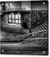 Early Morning Commute Acrylic Print by Joan Carroll