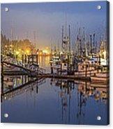 Early Morning Harbor Acrylic Print by Jon Glaser