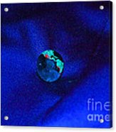 Earth Alone Acrylic Print by First Star Art