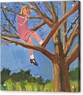 Easter In The Apple Tree Acrylic Print by Betty Pieper