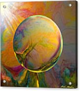 Easter Orb Acrylic Print by Robin Moline