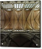 Ecclesiastical Ceiling No. 1 Acrylic Print by Joe Bonita