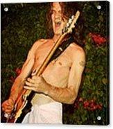 Eddie Van Halen Acrylic Print by Nina Prommer