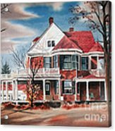Edgar Home Acrylic Print by Kip DeVore