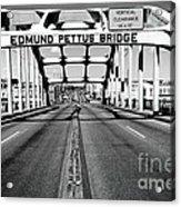 Edmund Pettus Bridge Acrylic Print by Danny Hooks