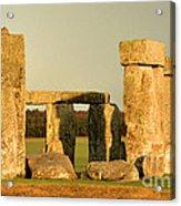 Eerie Stonehenge 4 Acrylic Print by Deborah Smolinske