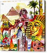 Egypt Acrylic Print by George Rossidis