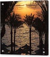 Egypt Sunrise Acrylic Print by Jane Rix