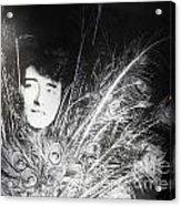 Eileen Gray Retrospective Imma Dublin Acrylic Print by Ros Drinkwater