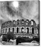 El Jem Colosseum 2 Acrylic Print by Dhouib Skander