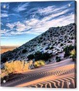 El Paso Blue Acrylic Print by JC Findley