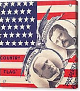 Electoral Poster For The American Presidential Election Of 1900 Acrylic Print by American School