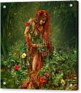 Elements - Earth Acrylic Print by Cassiopeia Art