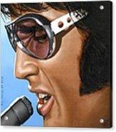 Elvis 24 1970 Acrylic Print by Rob De Vries