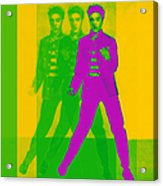 Elvis Three 20130215 Acrylic Print by Wingsdomain Art and Photography