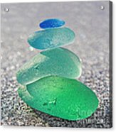 Emerald Light Acrylic Print by Barbara McMahon