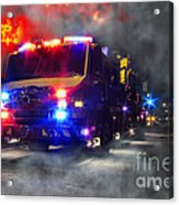 Emergency Acrylic Print by Olivier Le Queinec