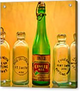 Empties Acrylic Print by James Barber