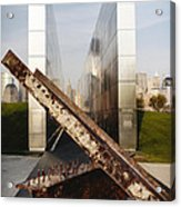 Empty Sky New Jersey September 11th Memorial Acrylic Print by George Oze